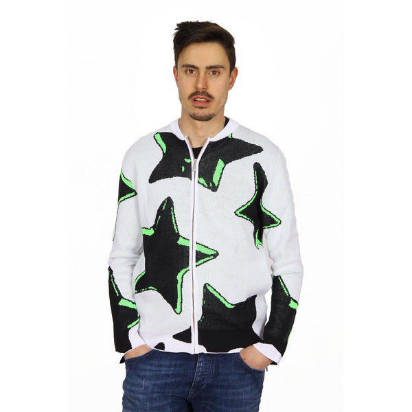 Just Cavalli mens sweater with zip S03HA0131 N14248 100