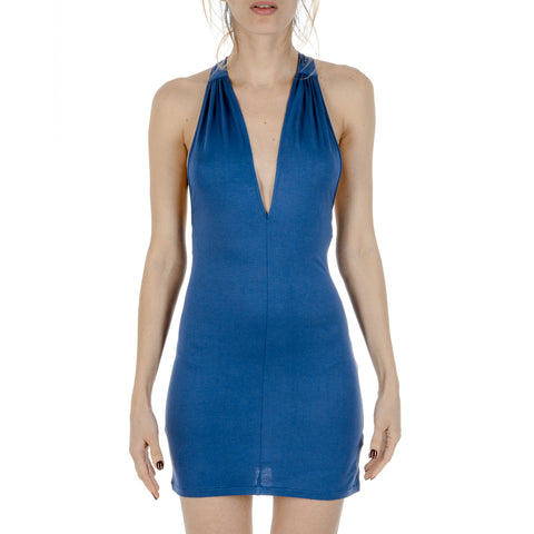 La Perla Mare Womens Dress Blue