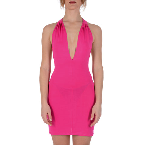La Perla Mare Womens Dress Fuxia