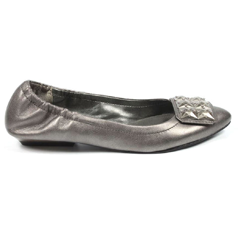 Nine West Womens Ballerina NWDAGNER PEWTER