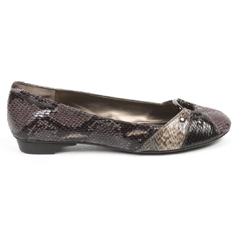 Nine West Womens Ballerina NWLIGHTNING GREY MULTI