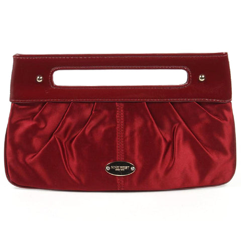 Nine West Womens Handbag 138303 DEEP RED IVY