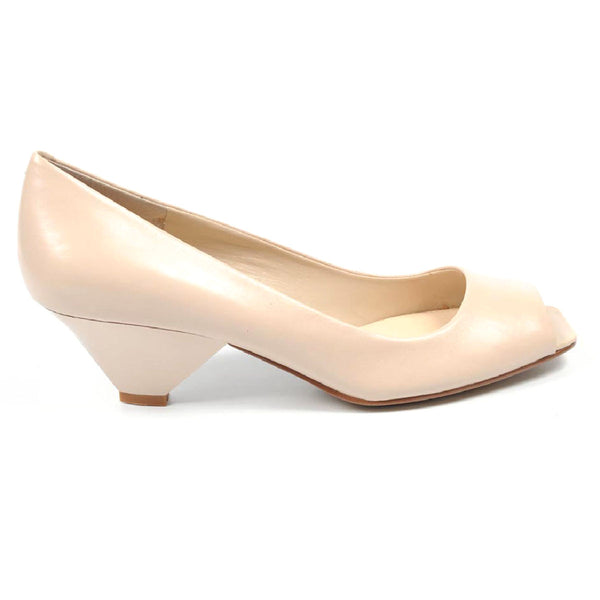 Nine West Womens Pump Open Toe NWZEPHYR LIGHT NATURAL