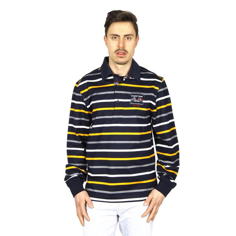 Paul & Shark mens polo long sleeve I14P1072 373