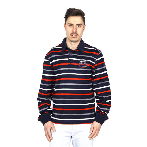 Paul & Shark mens polo long sleeve I14P1072 374
