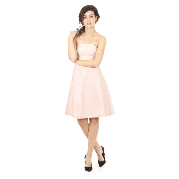 Red Valentino ladies dress IR3VA055 1FP 377 NUDO