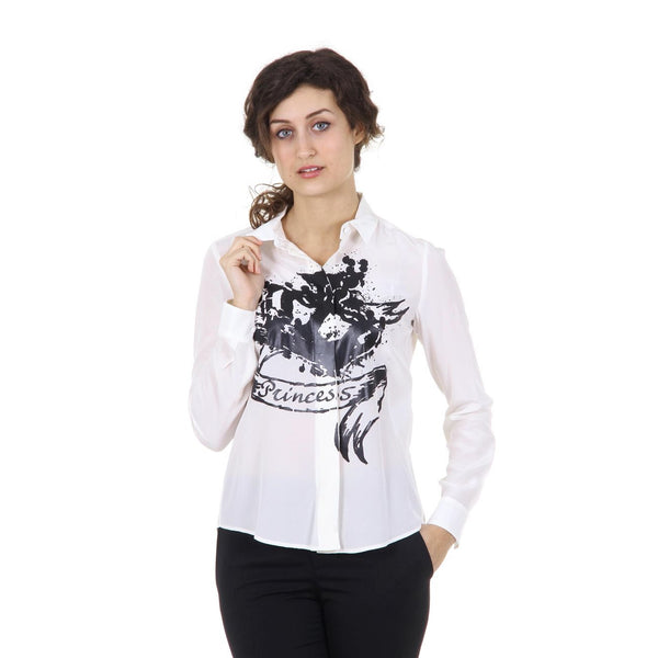 Red Valentino ladies shirt IR3AB000 15Q A03 AVORIO