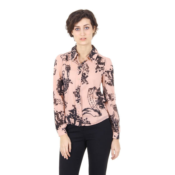 Red Valentino ladies shirt IR3AB025 1GA 377 NUDO