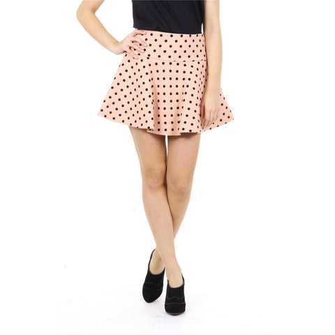 Red Valentino ladies skirt IR3RA035 1G9 377 NUDO
