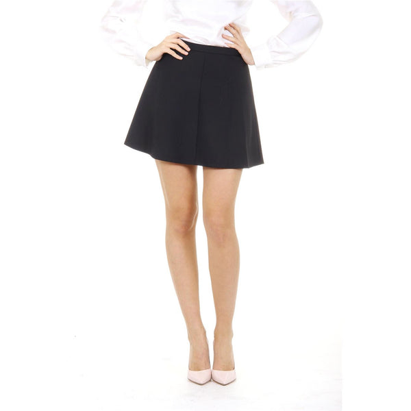 Red Valentino ladies skirt IR3RA045 00J 0NO NERO