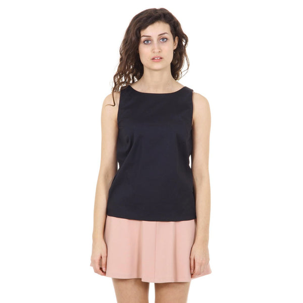 Red Valentino ladies top IR3AE010 0ES 0NO NERO