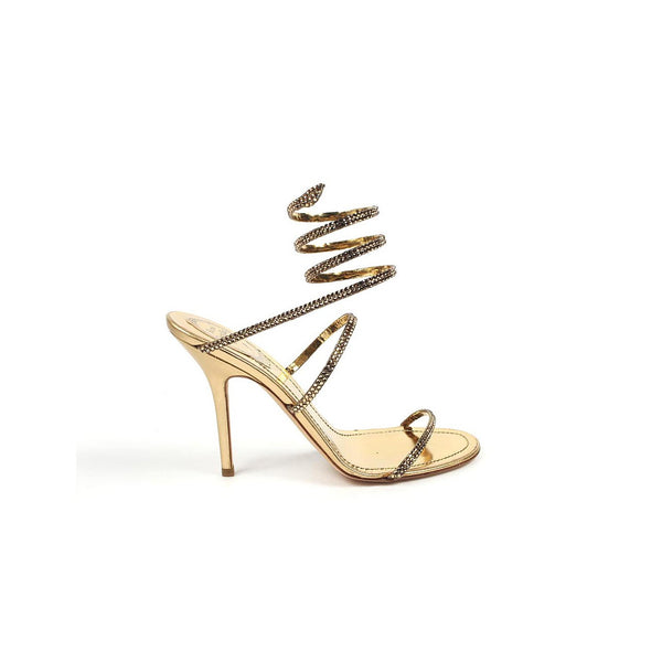 Rene Caovilla ladies sandals C4290 Mekong Gold