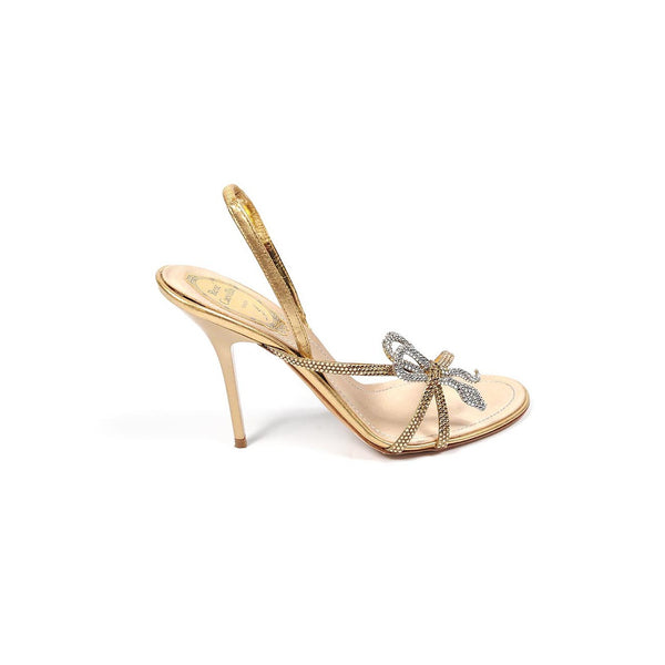 Rene Caovilla ladies sandals C5213 Nappa Silk Mekong