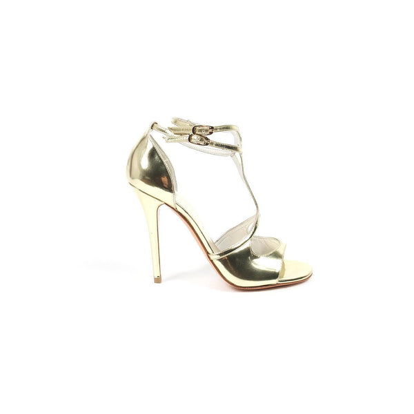 Stuart Weitzman ladies sandals Latenite Pale Gold