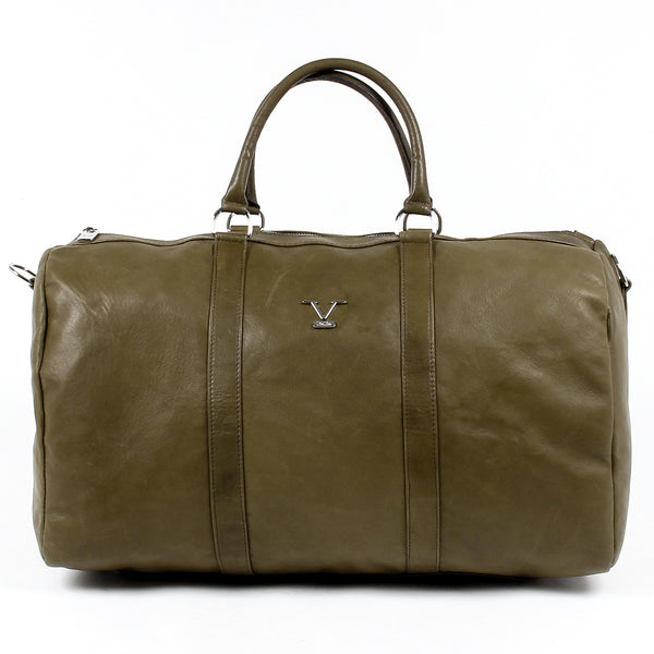 V 1969 Italia Mens Sport Bag Dark Green BERLINO