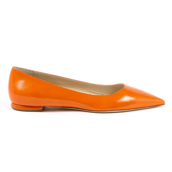 V 1969 Italia Womens Ballerina Orange CHIARA