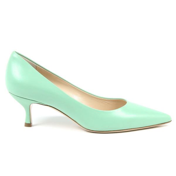 V 1969 Italia Womens Pump Green ASIA