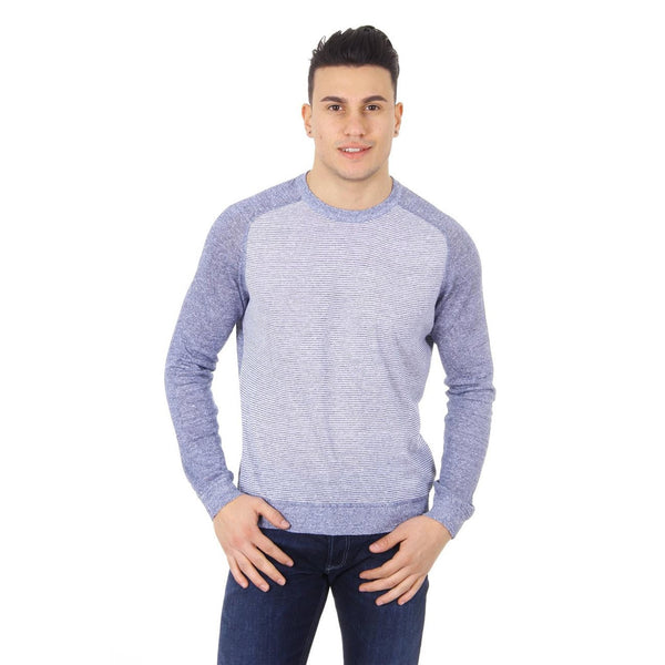 Z Zegna mens sweater round neck VGE10 ZZ400 530