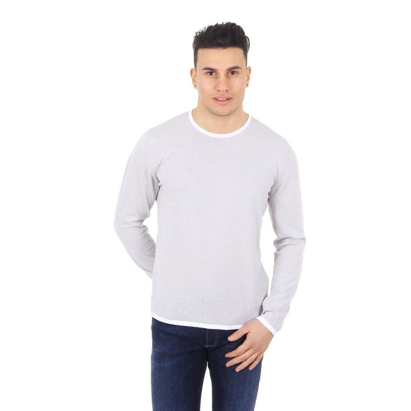Z Zegna mens sweater round neck VGL11 ZZ110 N02