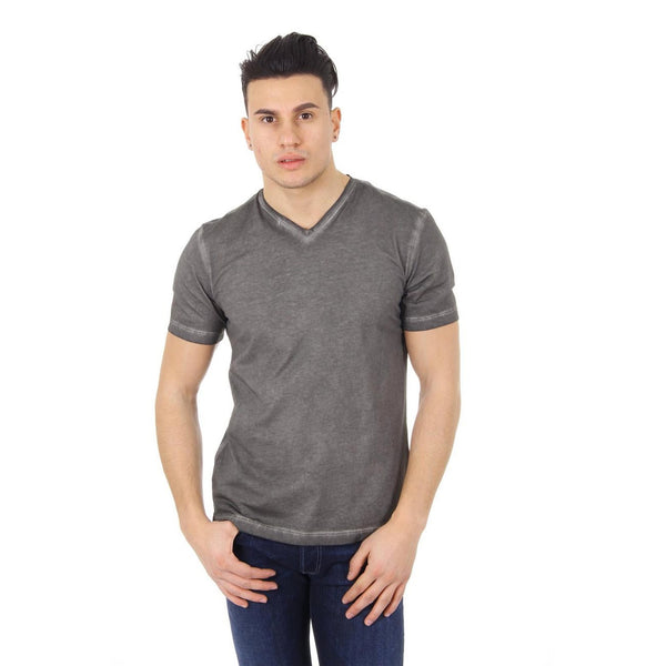 Z Zegna mens t-shirt V neck VG382 ZZ782 N07