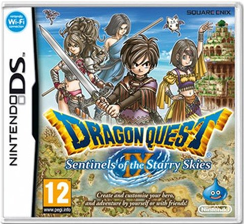 Dragon Quest IX: Sentinels of the Starry Skies - DS