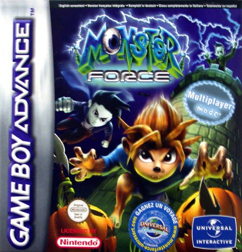 Monster Force - Game Boy Advance