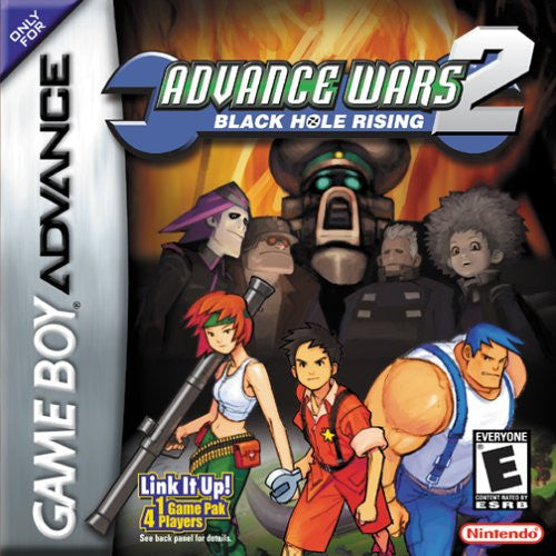 Advance Wars 2 Black Hole Rising - Gameboy