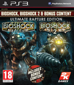 Bioshock 1 & 2 Ultimate Rapture Edition - PS3