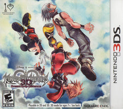Kingdom Hearts 3D Dream Drop Distance - 3DS