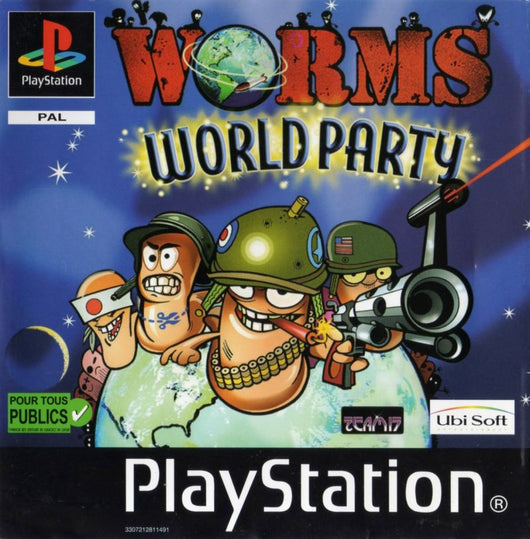 Worms World Party - PS1