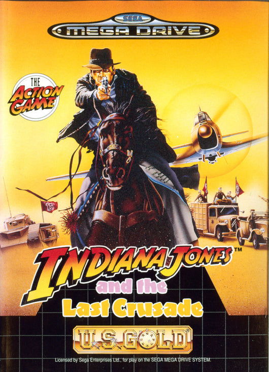 Indiana Jones Last Crusade - Megadrive