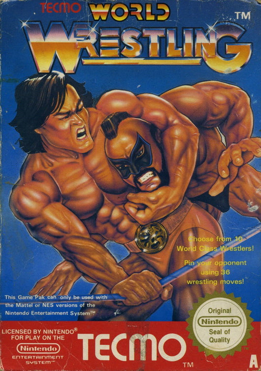 Tecmo World Wrestling - NES