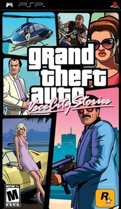 GTA Grand Theft Auto: Vice City Stories - PSP