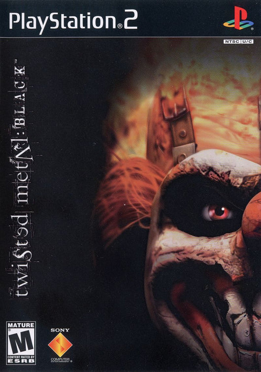 Twisted Metal Black - Ps2