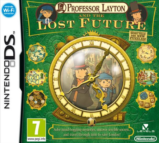 Professor Layton and The Lost Future - DS