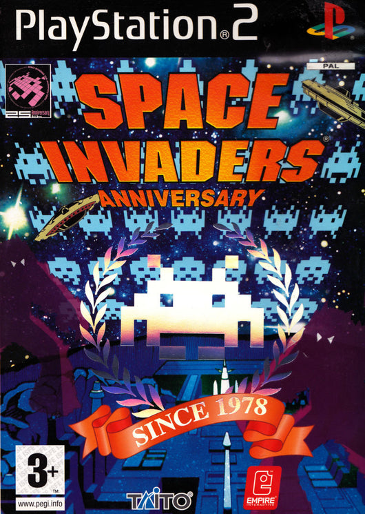 Space Invaders: Anniversary - PS2