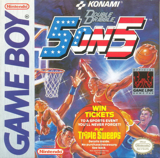 Double Dribble 5 on 5 - Game Boy Original