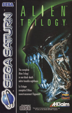 Alien Trilogy - Sega Saturn - Saturn