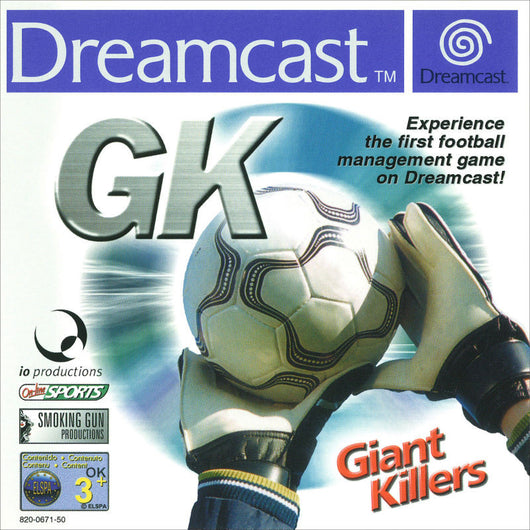 GK- Giant Killers - Dreamcast