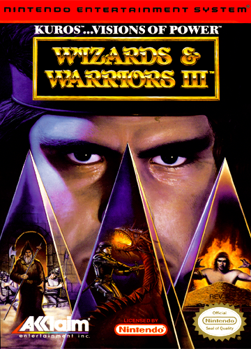 Wizards & Warriors III - NES