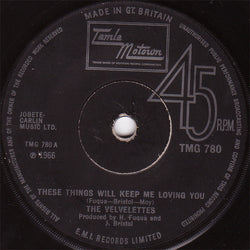 The Velvelettes : These Things Will Keep Me Loving You (7
