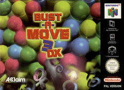 Bust A Move 3DX - N64