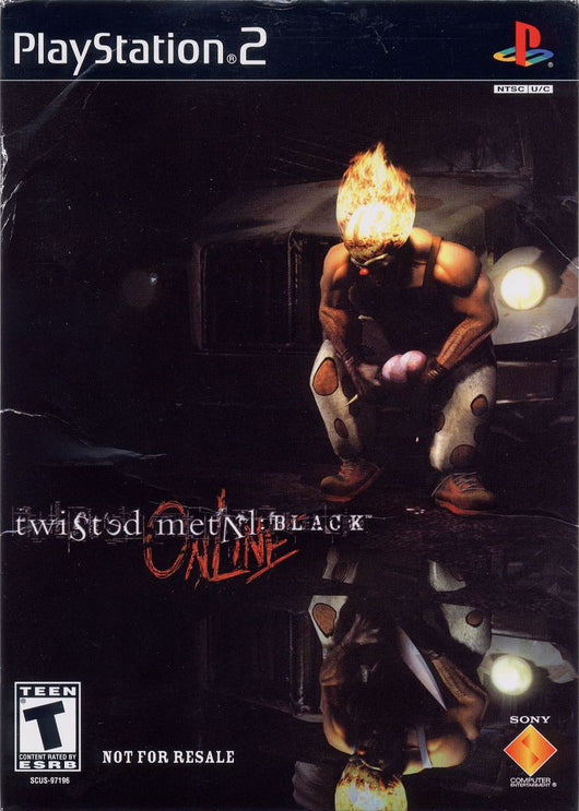 Twisted Metal Black Online - Ps2