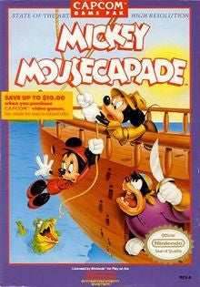 Mickey Mousecapade - NES