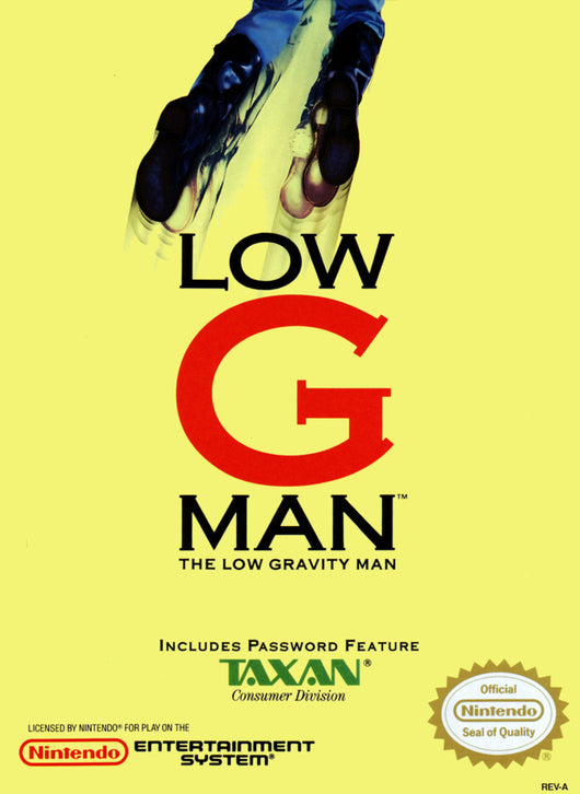 Low G Man - NES