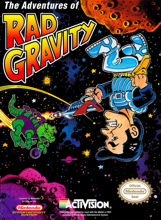 Rad Gravity - NES