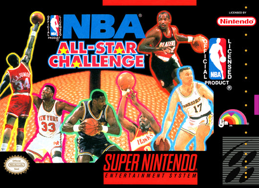 NBA All Star Challenge - SNES