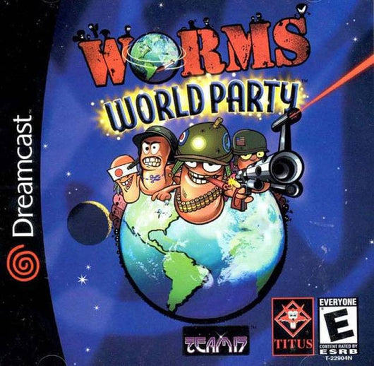 Worm World Party - Dreamcast