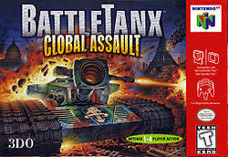 Battle Tanx Global Assault - N64