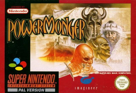 Powermonger - SNES